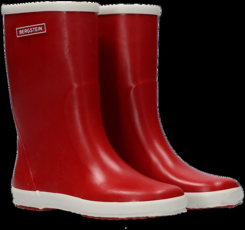 BERGSTEIN Bottes en caoutchouc RAINBOOT en rouge - larger