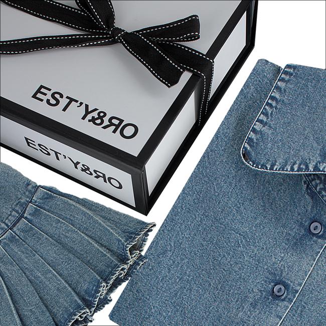 EST'Y&RO Col EST'50 en bleu - large