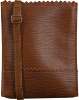 Bruine MYOMY Schoudertas MY PAPER BAG BAGGY MEDIUM - medium