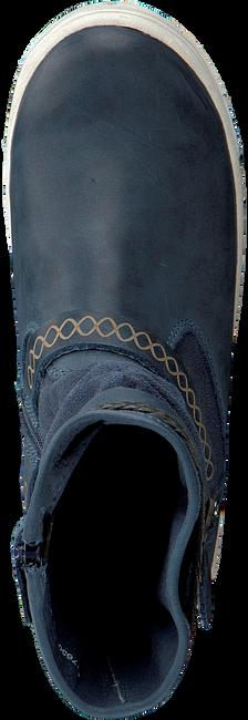 BRAQEEZ Bottes hautes 417650 en bleu - large