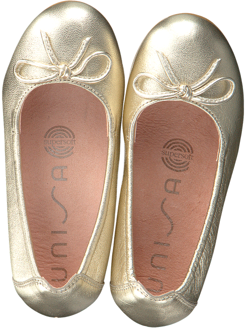 UNISA Ballerines CRESY en or  - large