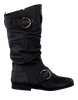 Zwarte GIGA Lange laarzen 8681  - small