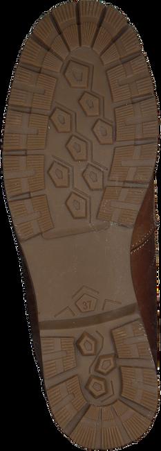 OMODA Bottines à lacets 1260 en marron - large
