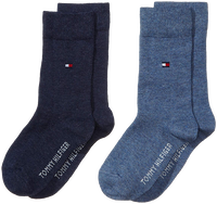 TOMMY HILFIGER Chaussettes TH CHILDREN SOCK TH BASIC 2P en bleu - medium