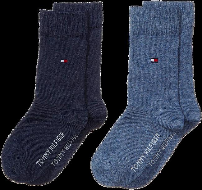 Blauwe TOMMY HILFIGER Sokken TH CHILDREN SOCK TH BASIC 2P - large