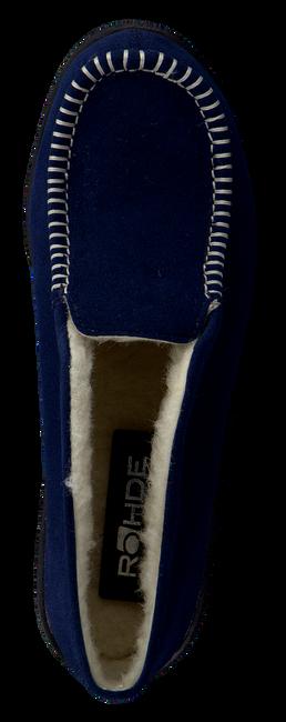 ROHDE ERICH Chaussons 2176 en bleu - large