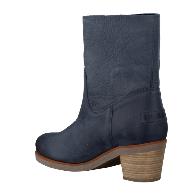 SHABBIES Bottines 201018 en bleu - large