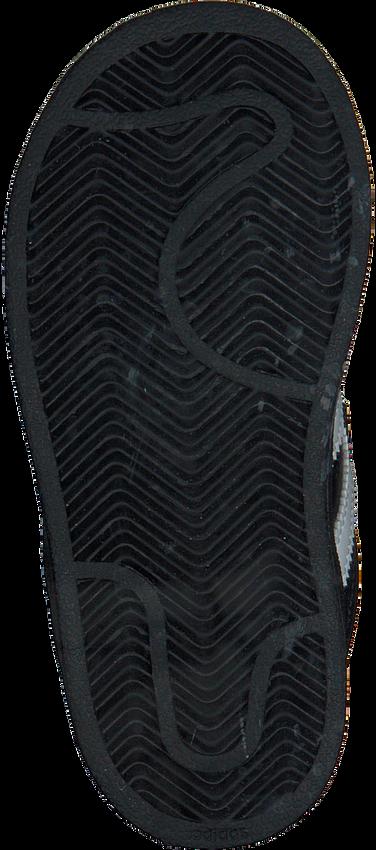 ADIDAS Baskets SUPERSTAR CF en noir - larger