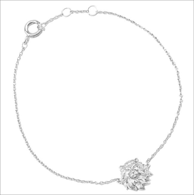 ALLTHELUCKINTHEWORLD Bracelet SOUVENIR BRACELET LION en argent - large
