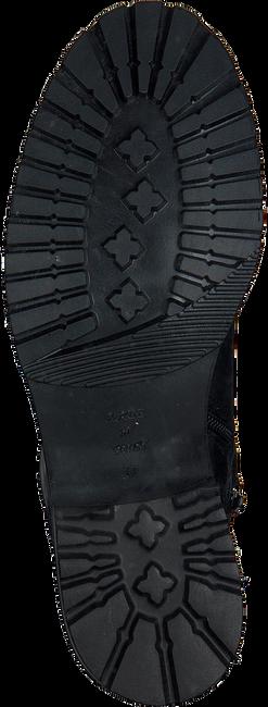 OMODA Bottines à lacets AD427 en noir - large