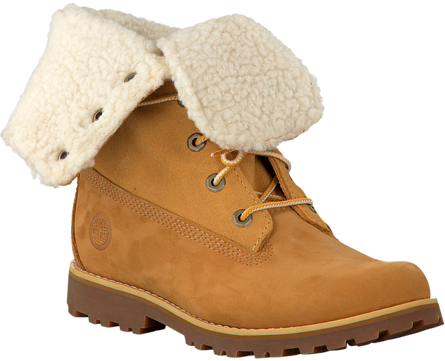 TIMBERLAND Bottillons 6IN WP SHEARLING BOOT en camel - large