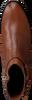 Cognac TOMMY HILFIGER Enkellaarsjes TH HARDWARE FLAT  - small