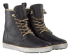 Zwarte BLACKSTONE Enkelboots AM32  - small