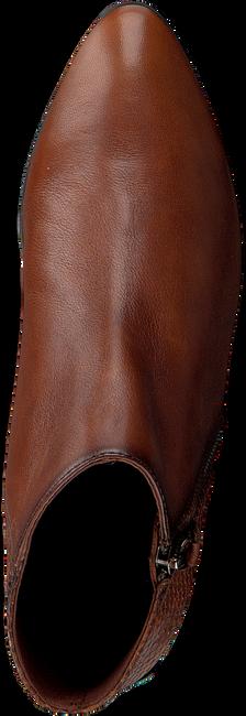 Cognac HISPANITAS Enkellaarsjes NADIA-19  - large