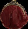 BECKSONDERGAARD Porte-monnaie GRANNY RAINBOW AW19 en rouge  - small