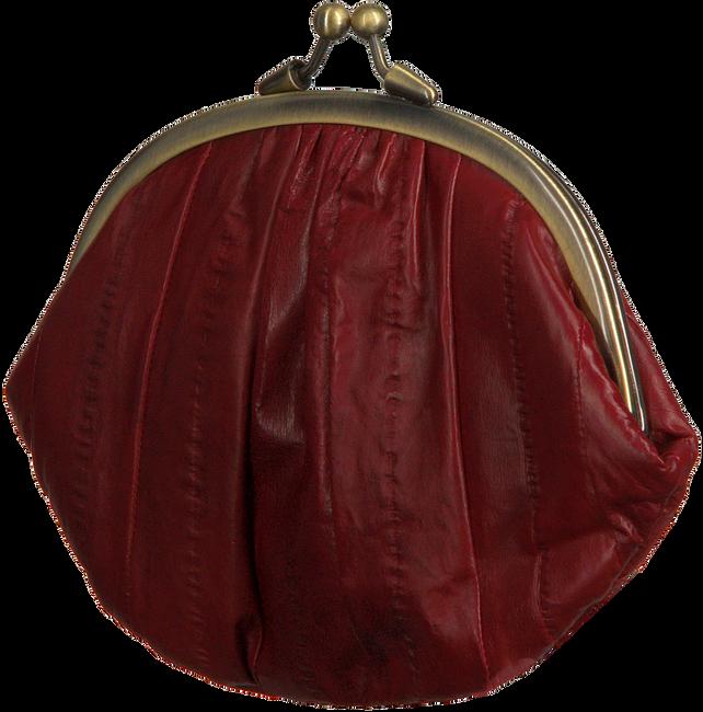 BECKSONDERGAARD Porte-monnaie GRANNY RAINBOW AW19 en rouge  - large