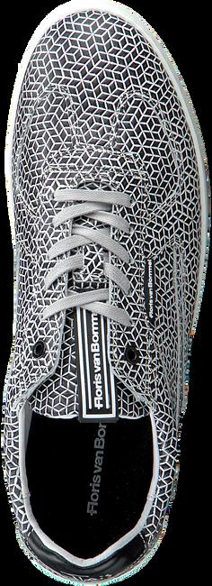 FLORIS VAN BOMMEL Baskets basses 16342 en blanc  - large