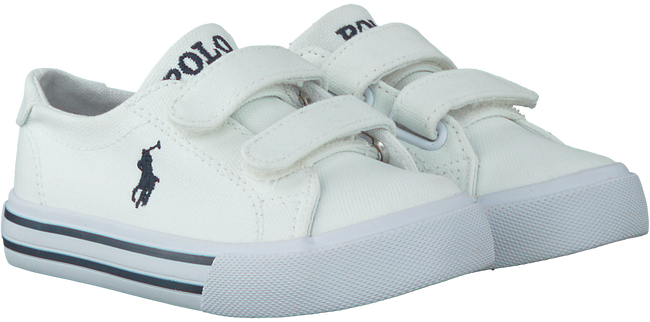 Witte POLO RALPH LAUREN Sneakers SLATER  - large