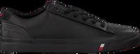 Zwarte TOMMY HILFIGER Lage sneakers CORPORATE  - medium