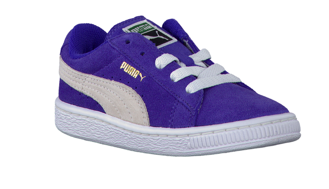 PUMA Baskets 355116 en violet - large