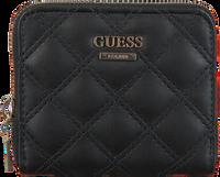 Zwarte GUESS Portemonnee CESSILY SLG SMALL ZIP AROUND  - medium