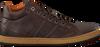 VAN LIER Baskets 7285 en marron - small
