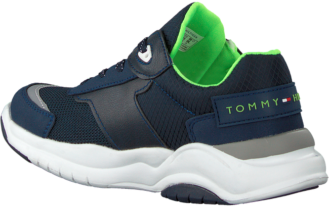 Blauwe TOMMY HILFIGER Lage sneakers LOW CUT LACE-UP T3B4-30727 - large