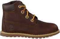 TIMBERLAND Bottines à lacets POKEY PINE 6IN BOOT KIDS en marron  - medium