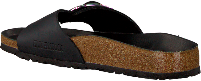 Zwarte BIRKENSTOCK PAPILLIO Slippers MADRID BIG BUCKLE  - large