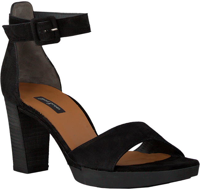 PAUL GREEN Sandales 7618-026 en noir  - large