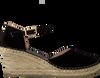 Zwarte FRED DE LA BRETONIERE Espadrilles 153010150  - small