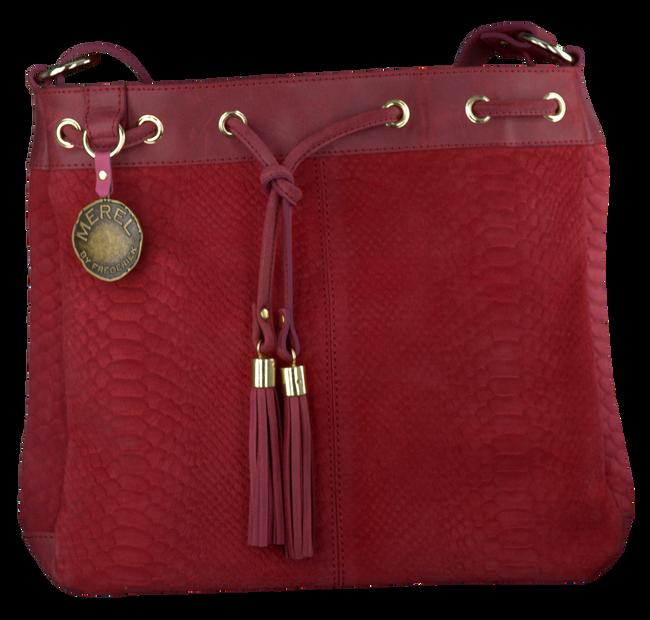 MEREL BY FREDERIEK Sac bandoulière HAVANA en rouge - large