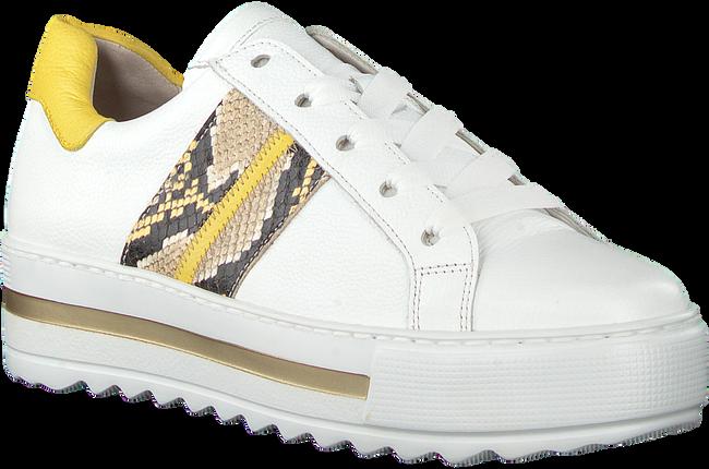Witte GABOR Lage sneakers 495  - large