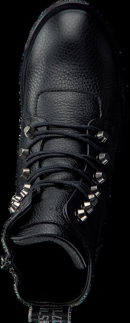 NUBIKK Bottines à lacets DJUNA CONE en noir - large