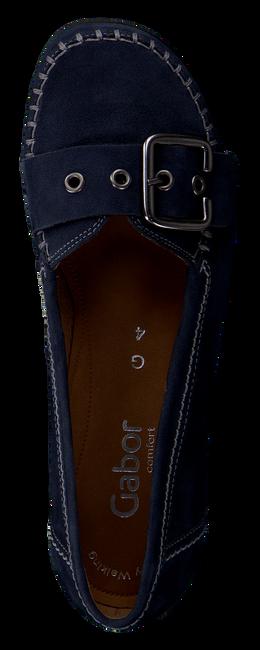 blauwe GABOR Instappers 522.2  - large