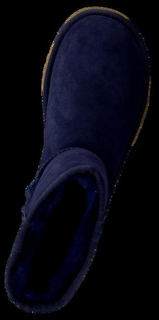 Blauwe UGG Vachtlaarzen CLASSIC SHORT - large
