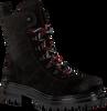 LAURA BELLARIVA Bottines à lacets 4202 en noir  - small