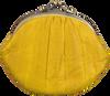 BECKSONDERGAARD Porte-monnaie GRANNY RAINBOW AW19 en jaune  - small