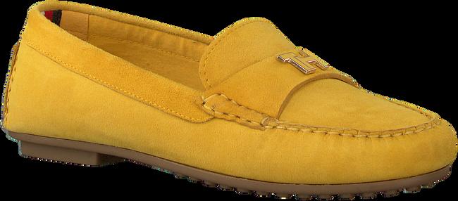 TOMMY HILFIGER Mocassins TH HARDWARE MOCASSIN en jaune  - large