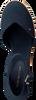 Blauwe TOMMY HILFIGER Sandalen BASIC CLOSED TOE MID WEDGE  - small