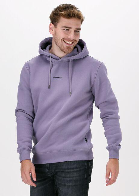 Lila PUREWHITE Sweater PURE LOGO HOODIE - large
