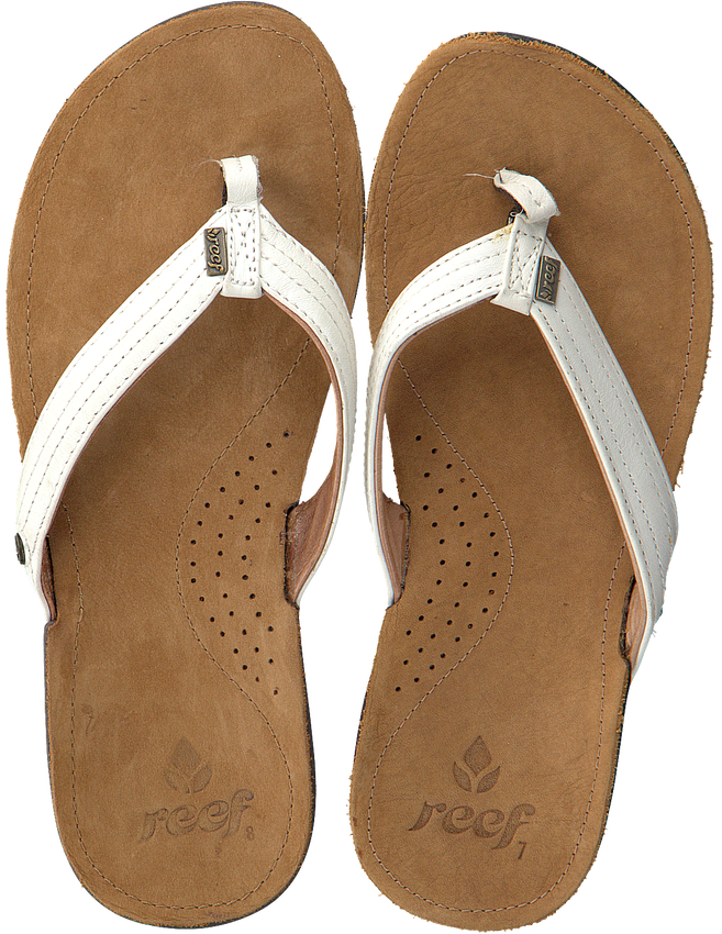 Witte REEF Slippers MISS J-BAY - larger