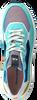 FLORIS VAN BOMMEL Baskets basses 85307 en vert  - small