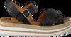 VERTON Sandales 52101 en noir  - small