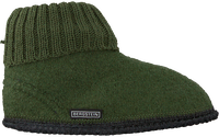 Groene BERGSTEIN Pantoffels COZY  - medium