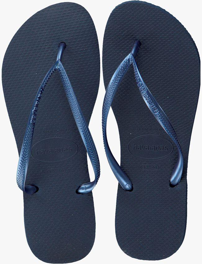 HAVAIANAS Tongs SLIM WOMEN en bleu - larger