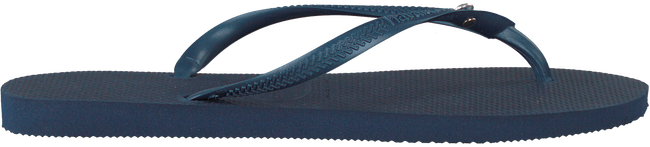 HAVAIANAS Tongs SLIM CRYSTAL GLAMOUR en bleu - large