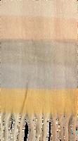 Beige Yehwang Sjaal SOFT CHECKERED  - medium