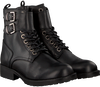 HIP Bottines à lacets H1788 en noir - small