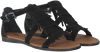 Zwarte MINNETONKA Sandalen 71302  - small